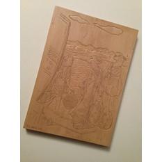 Японская гравюра из дерева