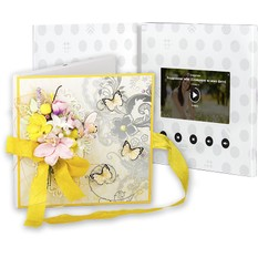 Видео открытка Бабочки