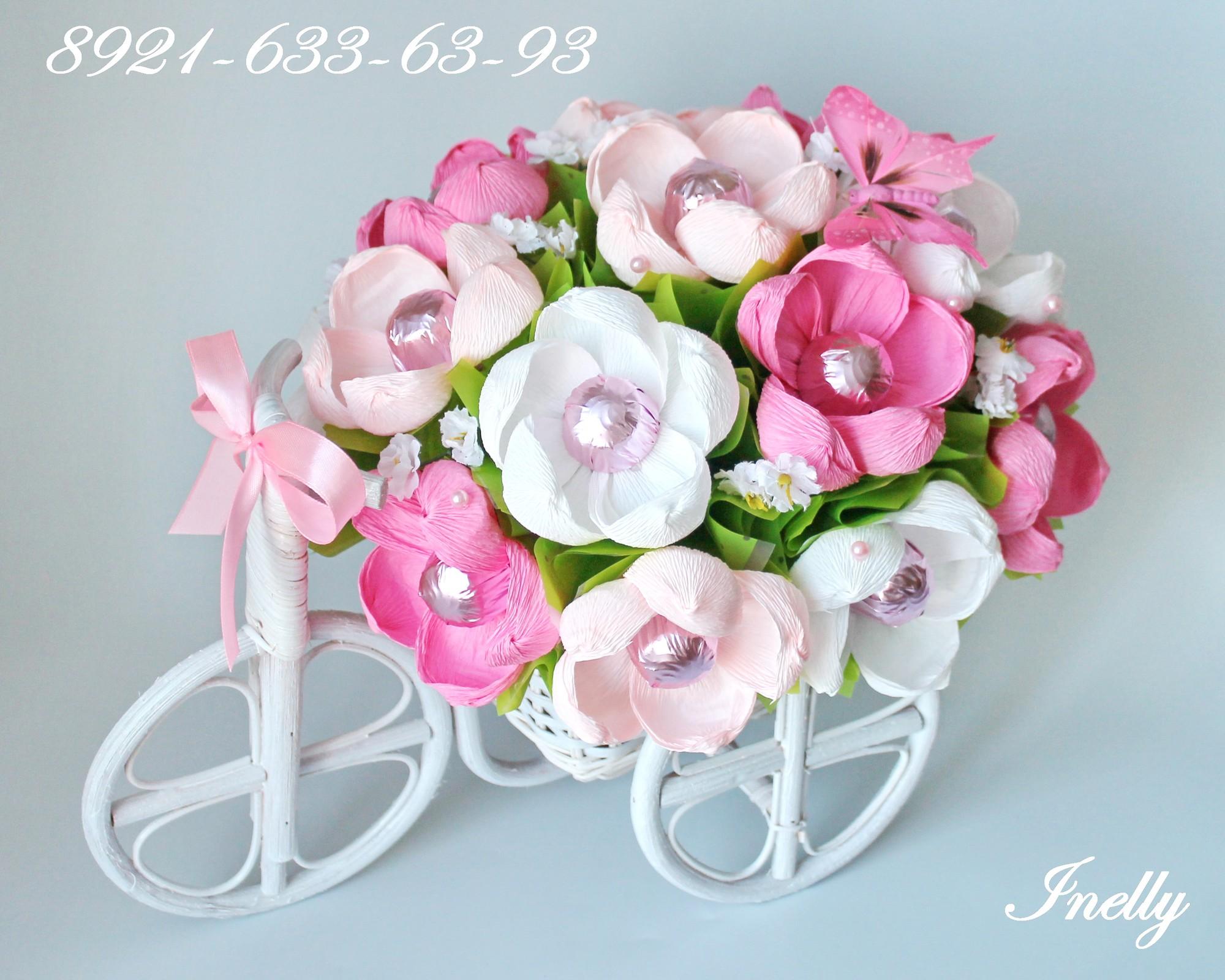 Цветы из сладостей купить подарок мужчине сертификат спб