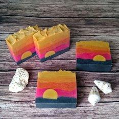 Натуральное мыло ручной работы Теплый закат