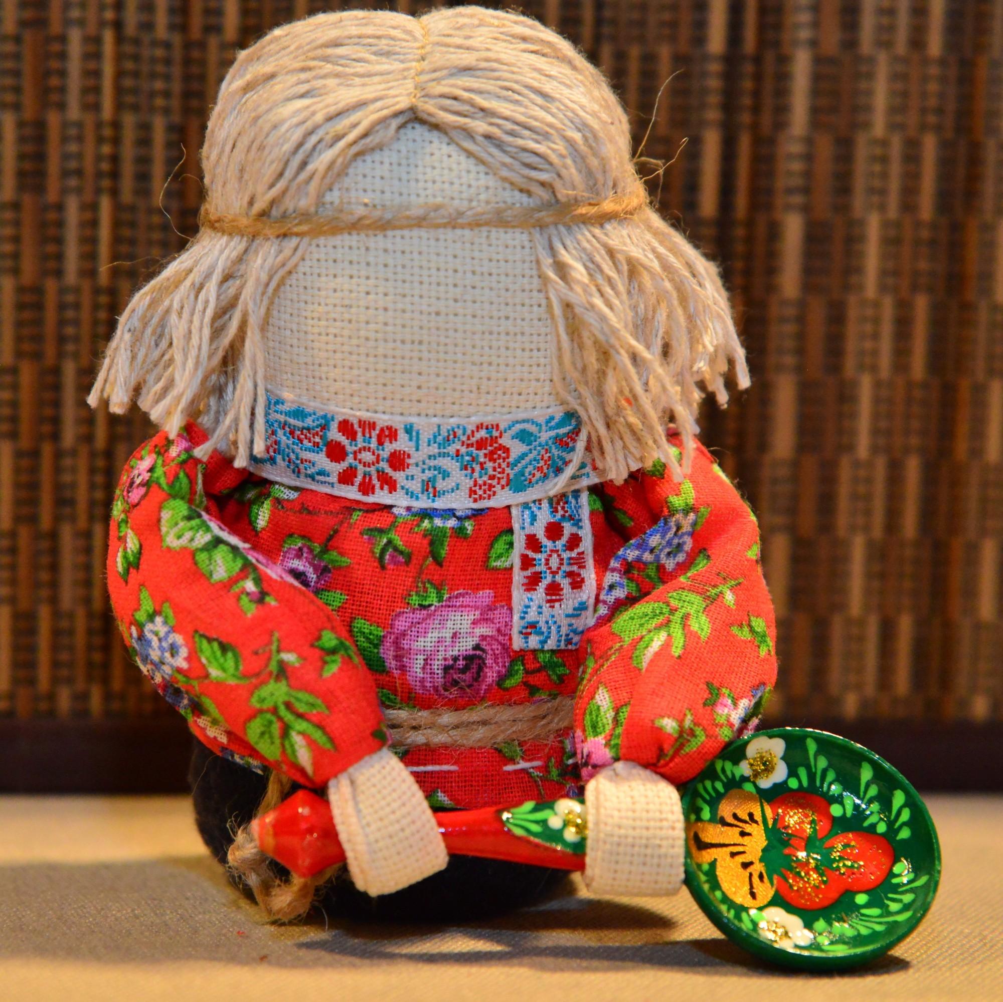 кукла оберег домовой
