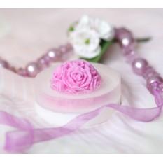 Нежнейшее ароматное мыло Розовый шар