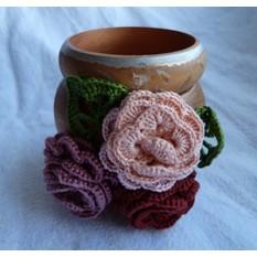 Деревянный браслет Розы