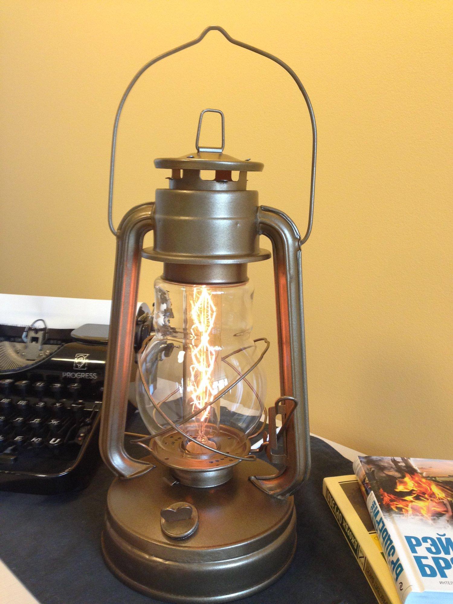 Сделать керосиновую лампу своими руками 152