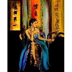 Картина маслом На берегах Доншуи