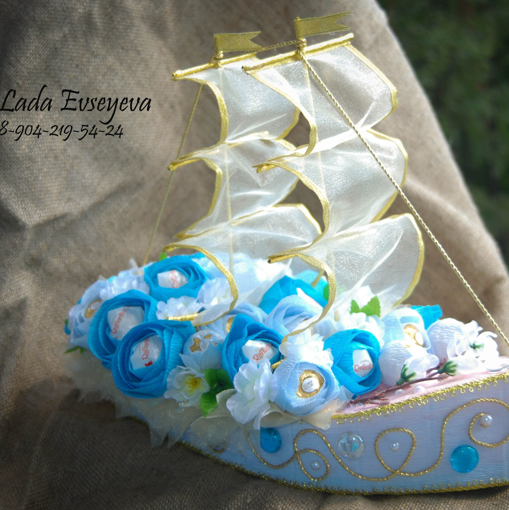 Корабль своими руками на свадьбу пошаговое фото 83