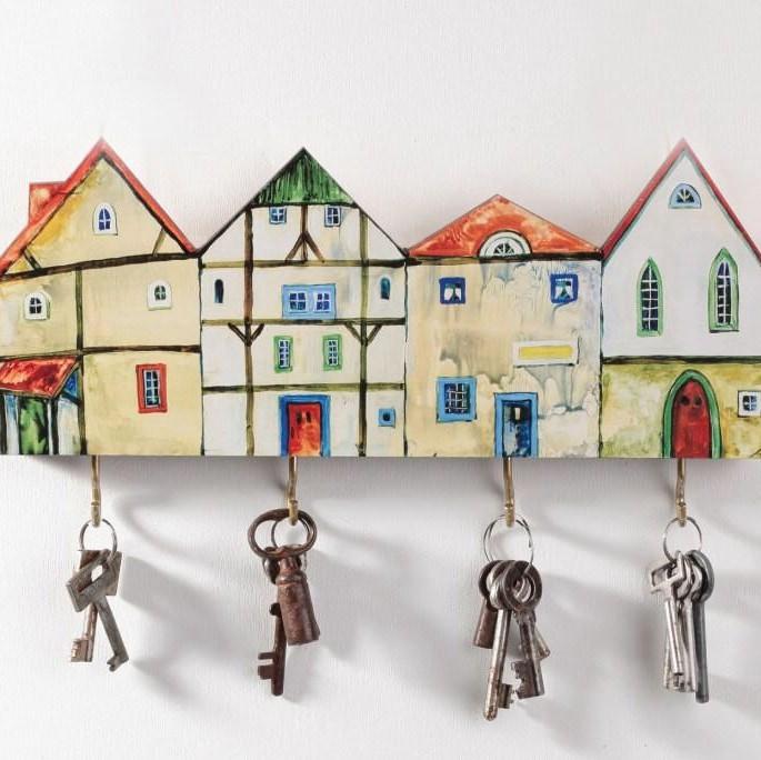 Ключница из дерева домик своими руками 52