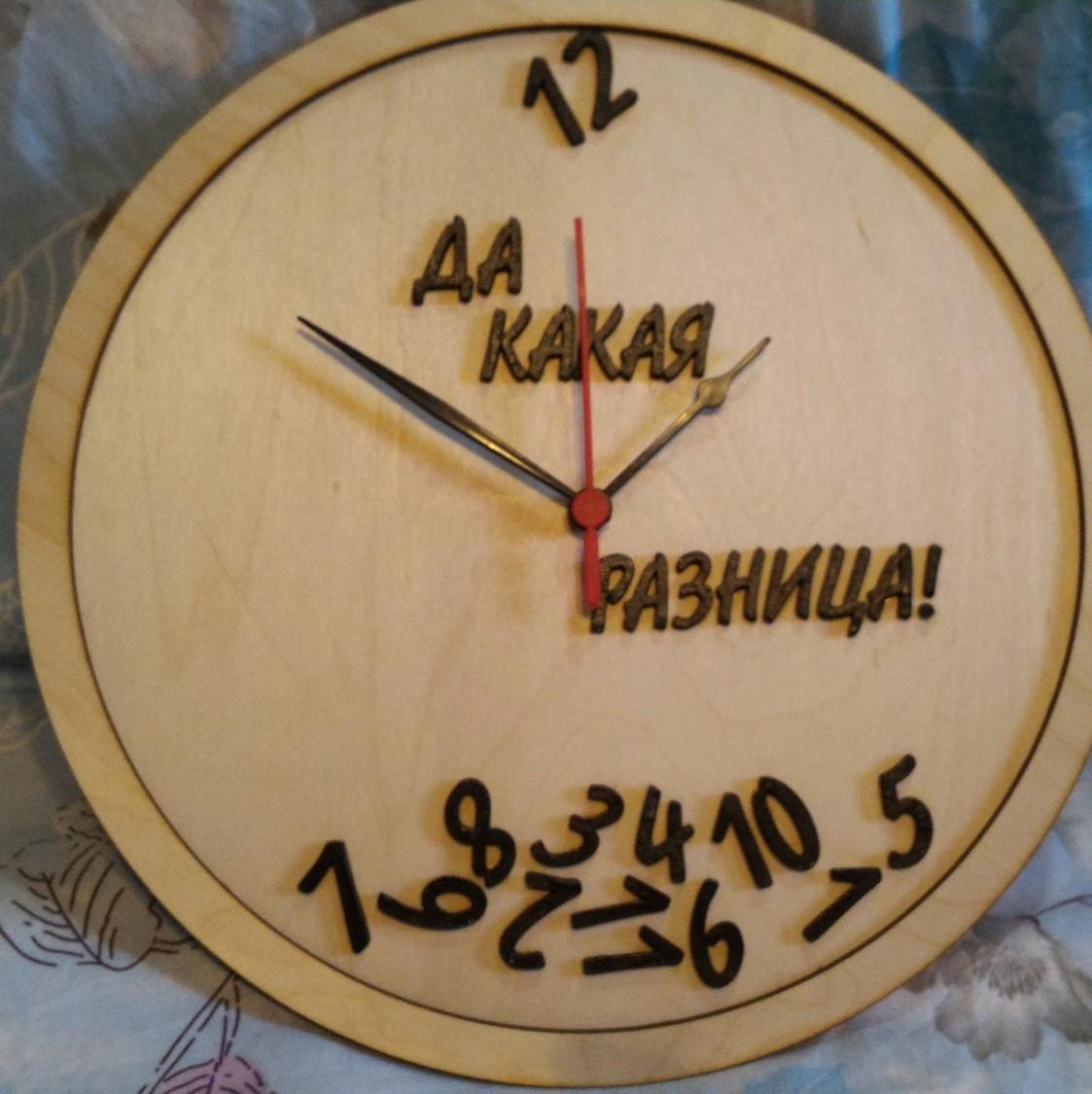 Как сделать циферблат для часов своими руками из дерева