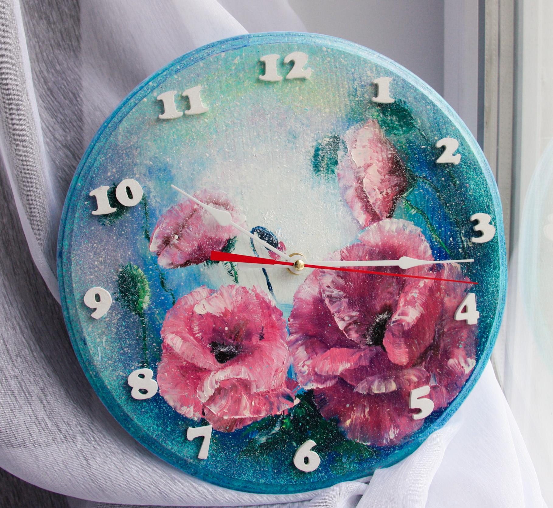 Роспись часов своими руками