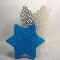 Мыло Синяя снежинка