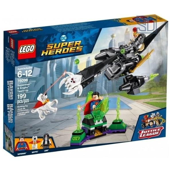 Конструктор LEGO DC Super Heroes «Супермен и Крипто»