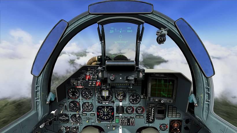 Авиатренажер СУ-27: программа «Я — Летчик»